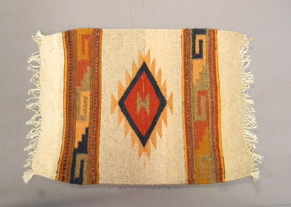 Zapotec Woven Rug, Beautiful Colour Combinations - Roadshow Collectibles