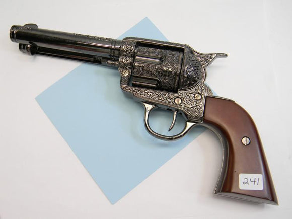 Replica/Prop Classic Deluxe Gunfighter Style 1873 Old West Revolver - Roadshow Collectibles