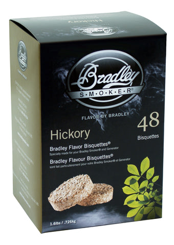 Bradley Smoker Hickory Flavour bisquettes