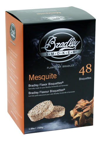 Bradley Smoker Mesquite Flavour bisquettes