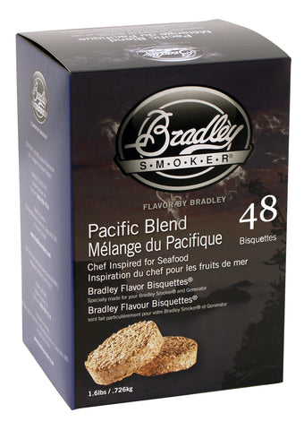 Bradley Smoker Pacific Blend Flavour bisquettes