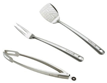 Barbecook Stainless Steel Barbecue Utensil Set