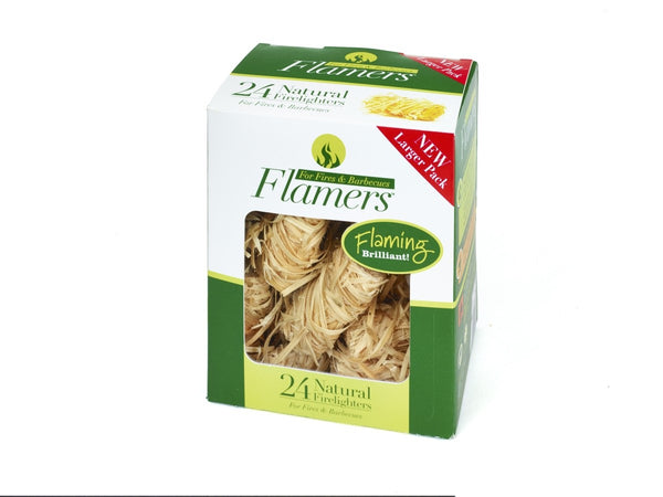 Flamers 24 Pack Natural Fire Lighters