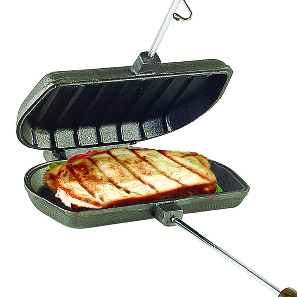 ROME 1305 Panini Sandwich Press - Cast Iron