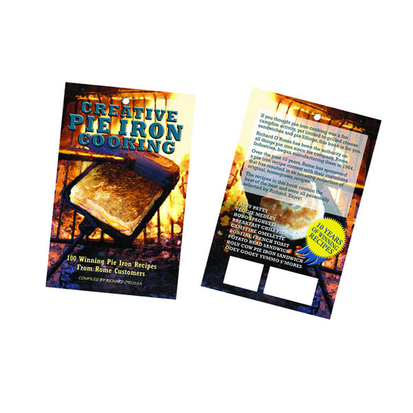 Pie Iron Recipe Books