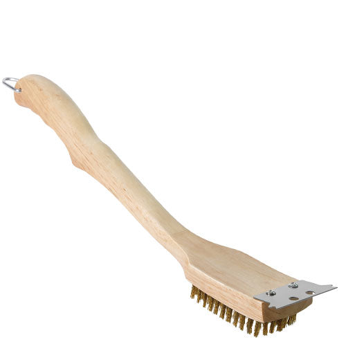 "NAPOLEON - 18"""" WOODEN GRILL BRUSH AND SCRAPER"