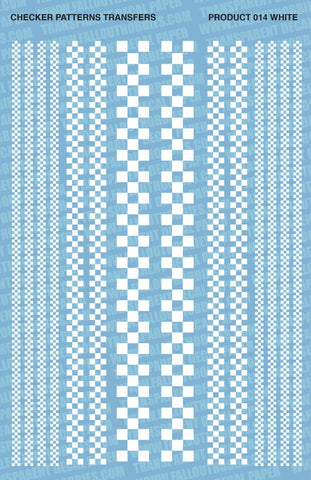Checker Patterns B/W