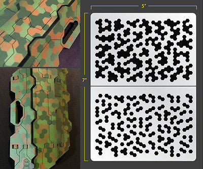 photograph about Printable Camo Stencils named Stencils  FALLOUT HOBBIES