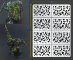 Infantry Traditional Camo Airbrush Stencil