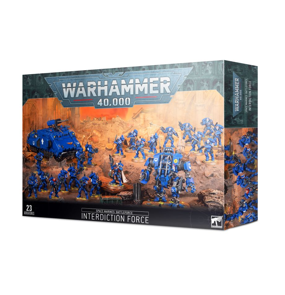 PRE-ORDER | Space Marines: Battleforce – Interdiction Force