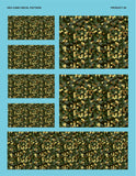 Hex Camo Decal Sheet