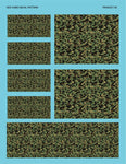 Traditional Camo Decal Sheet