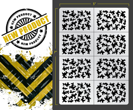 image relating to Digital Camo Stencil Printable known as Stencils  FALLOUT HOBBIES