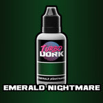 Emerald Nightmare Metallic Acrylic Paint 20ml Bottle