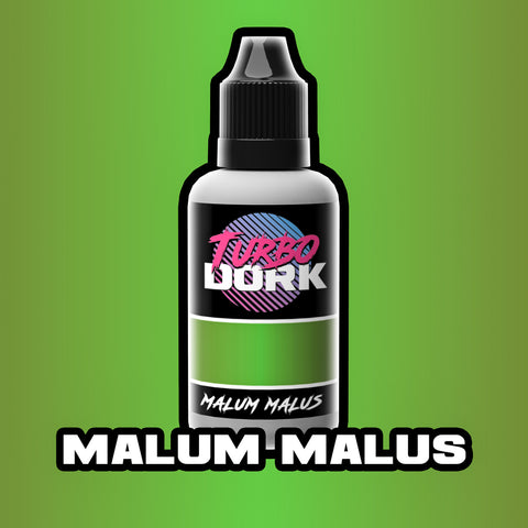 Malum Malus Metallic Acrylic Paint 20ml Bottle
