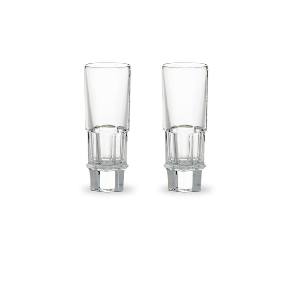 BACCARAT HARCOURT ABYSSE VODKA GLASS SET OF 2