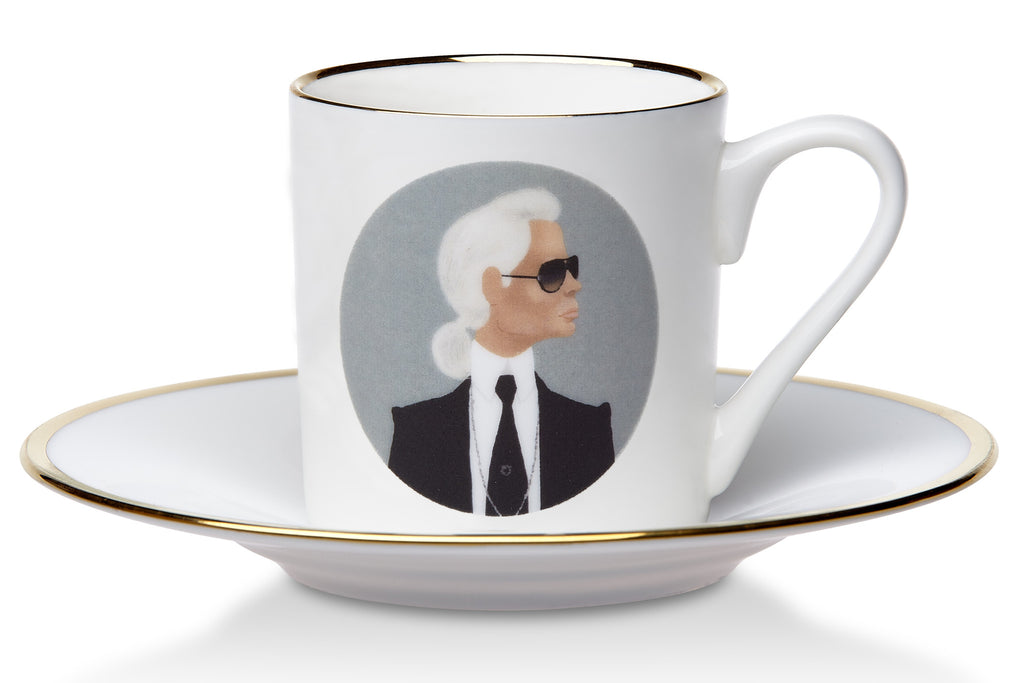 Fashion Espresso Cup Karl