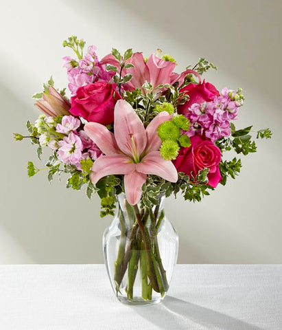 The Pink Posh Bouquet