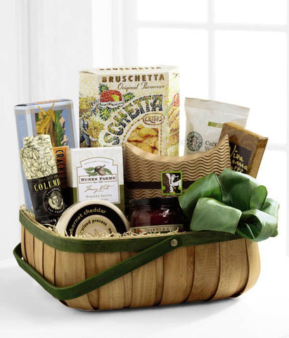 The Heartfelt Sympathies Gourmet Basket