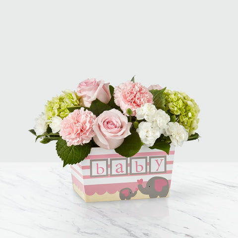 The Darling Baby Girl Bouquet