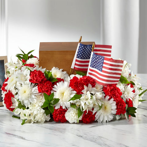 The Spirit of Patriotism Cremation Adornment