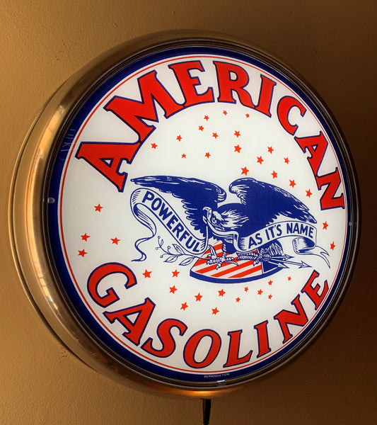 American Gasoline LED Wall Mount Pub Light