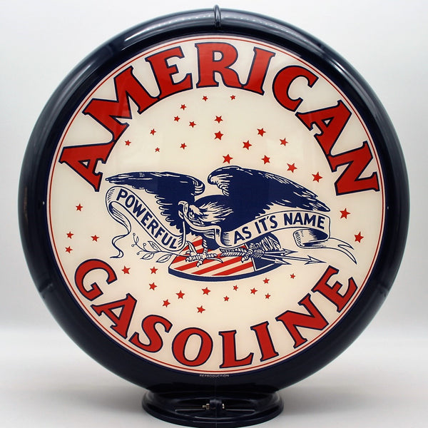 AMERICAN EAGLE GASOLINE Gas Pump Globe Face / Lens