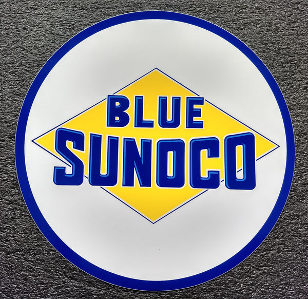 BLUE SUNOCO DECAL-12