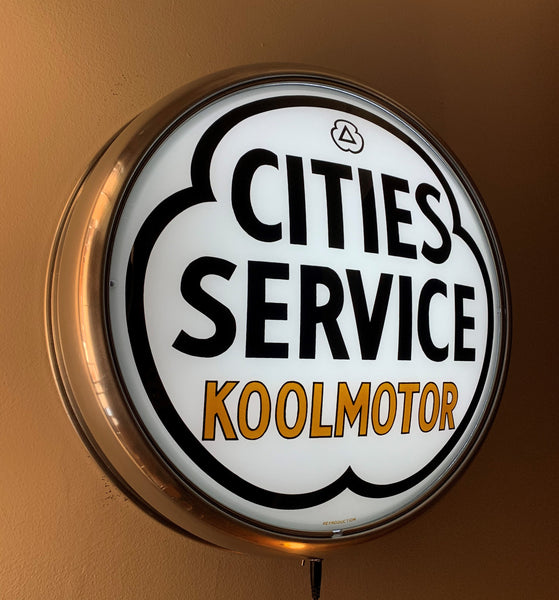 LED Wall Mount - Cities Service KoolMotor