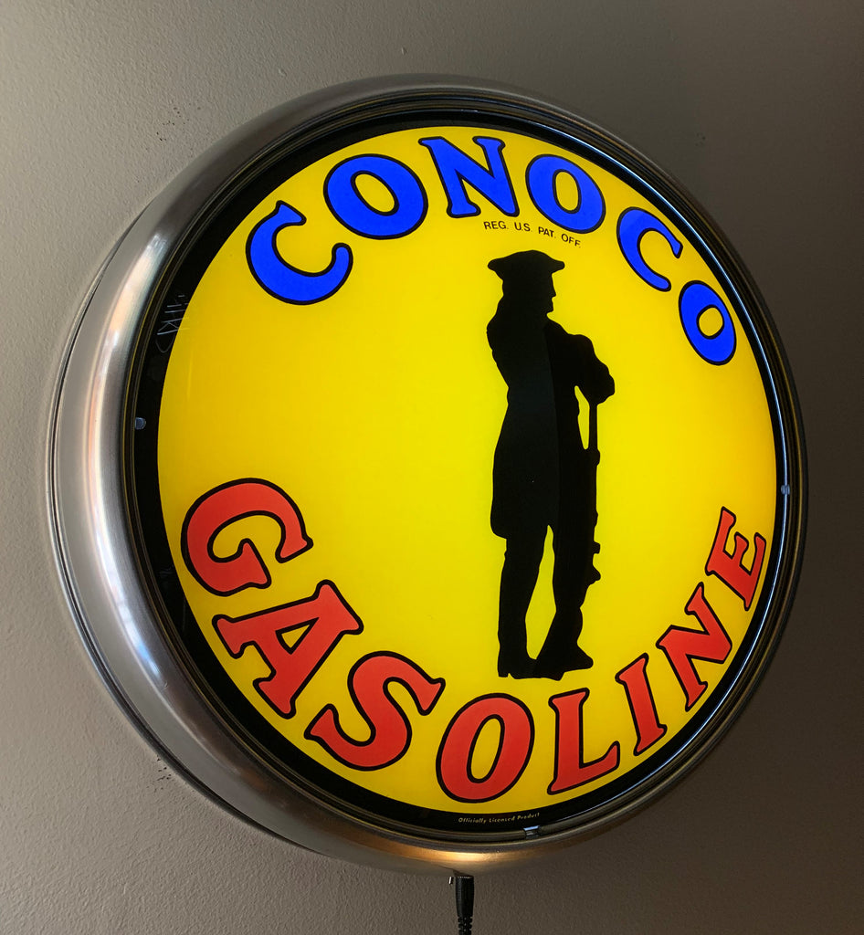 LED Wall Mount - Conoco Minute Man