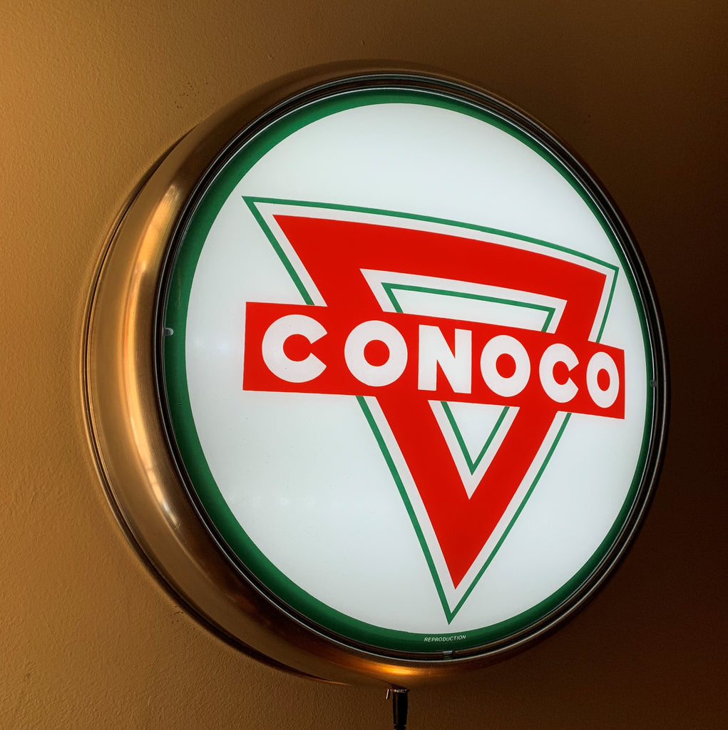 LED Wall Mount - Conoco Triangle