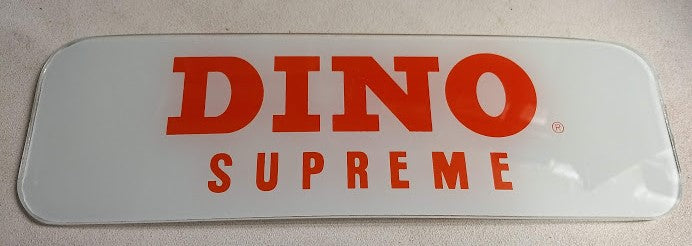 DINO SUPREME Ad Glass Panel