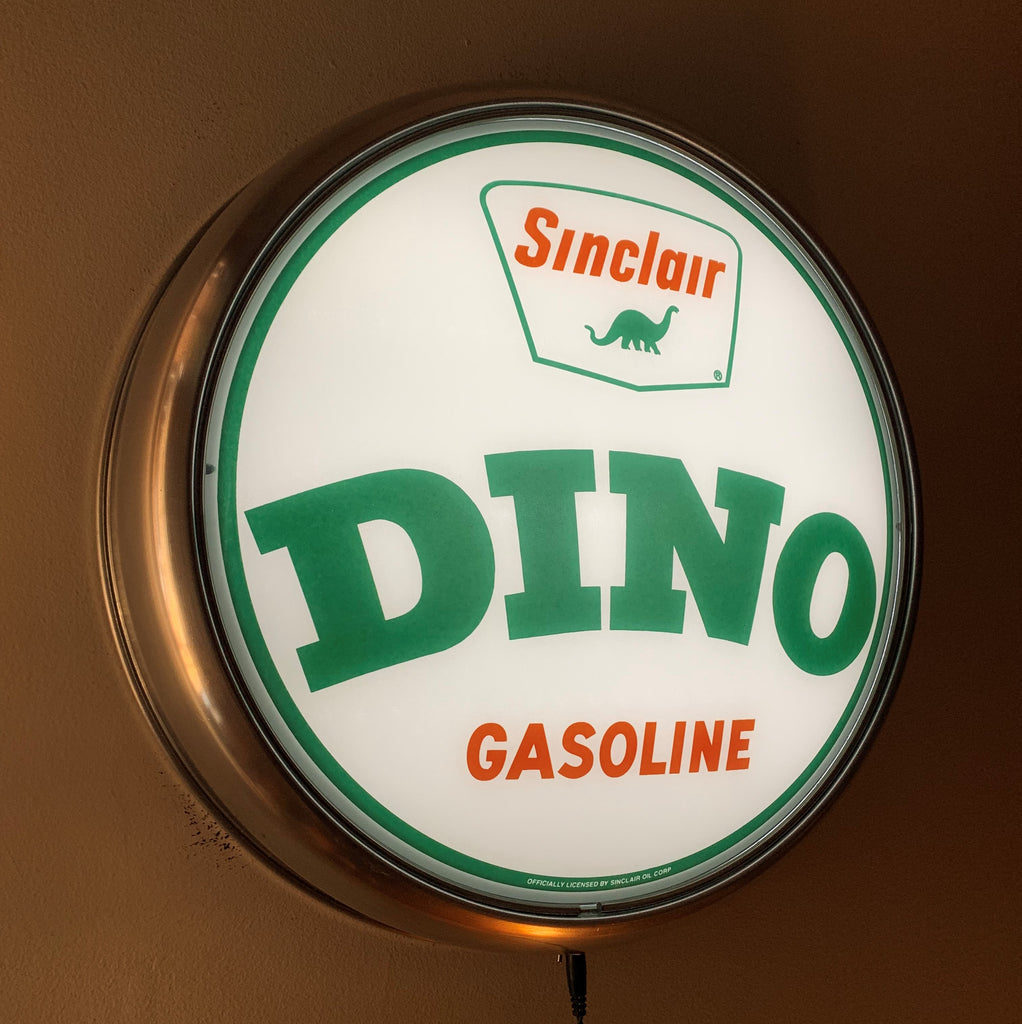 LED Wall Mount - Sinclair Dino Word