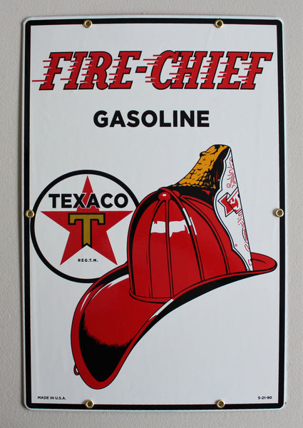 TEXACO FIRE CHIEF 12
