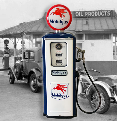 Mobilgas Tokheim 39 Reproduction Gas Pump