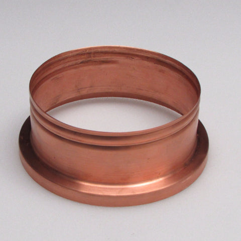 Copper Screw Fitter Base (long style)