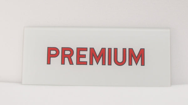 PREMIUM Ad Glass Panel