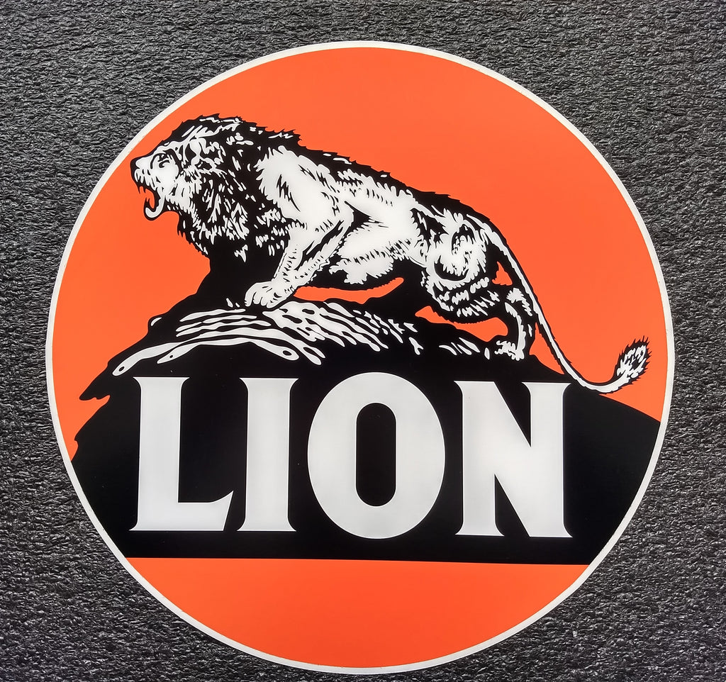 LION DECAL 12