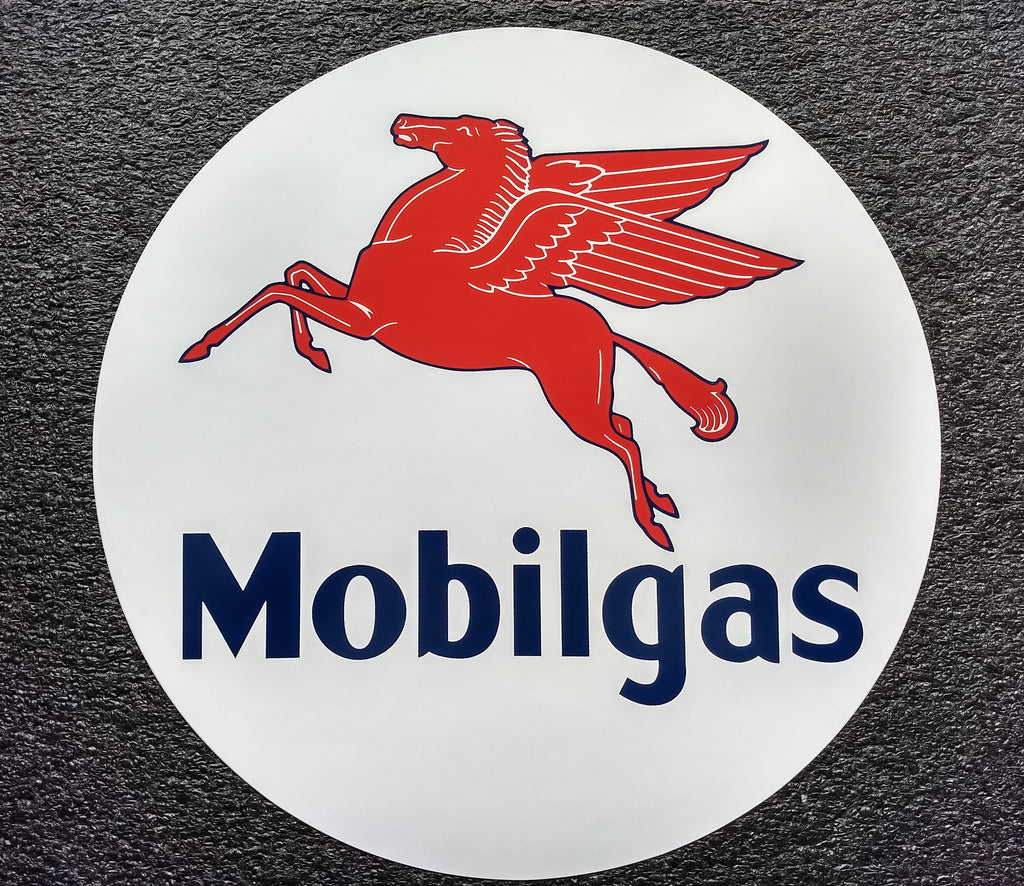 MOBILGAS DECAL-12