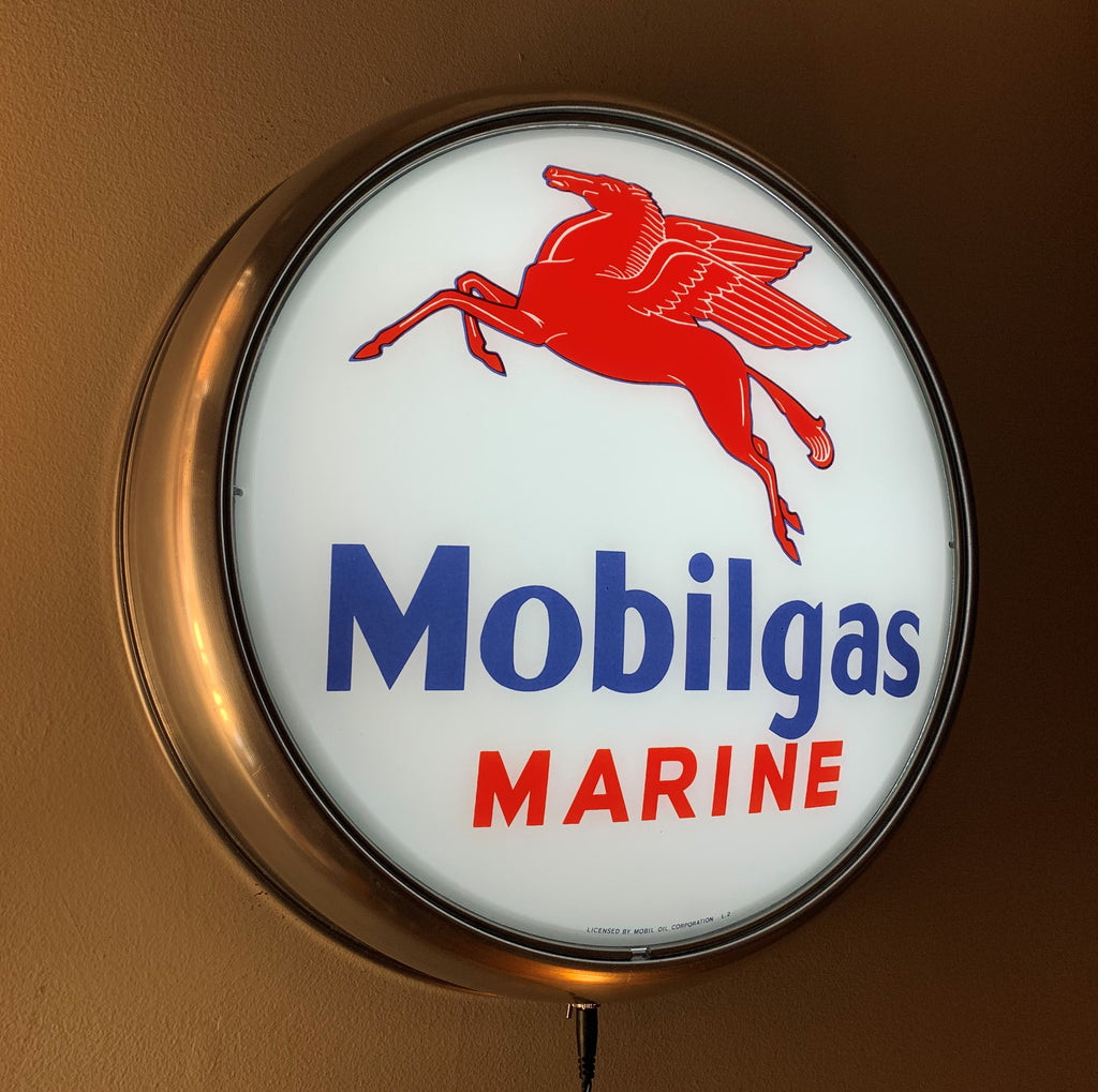 LED Wall Mount - Mobilgas Marine