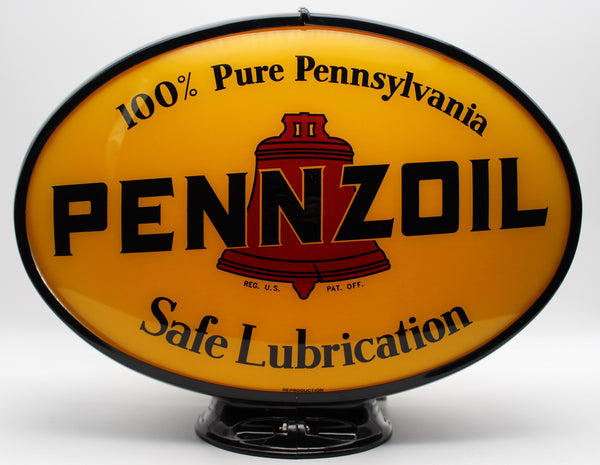 PENNZOIL Oval Advertising Globe