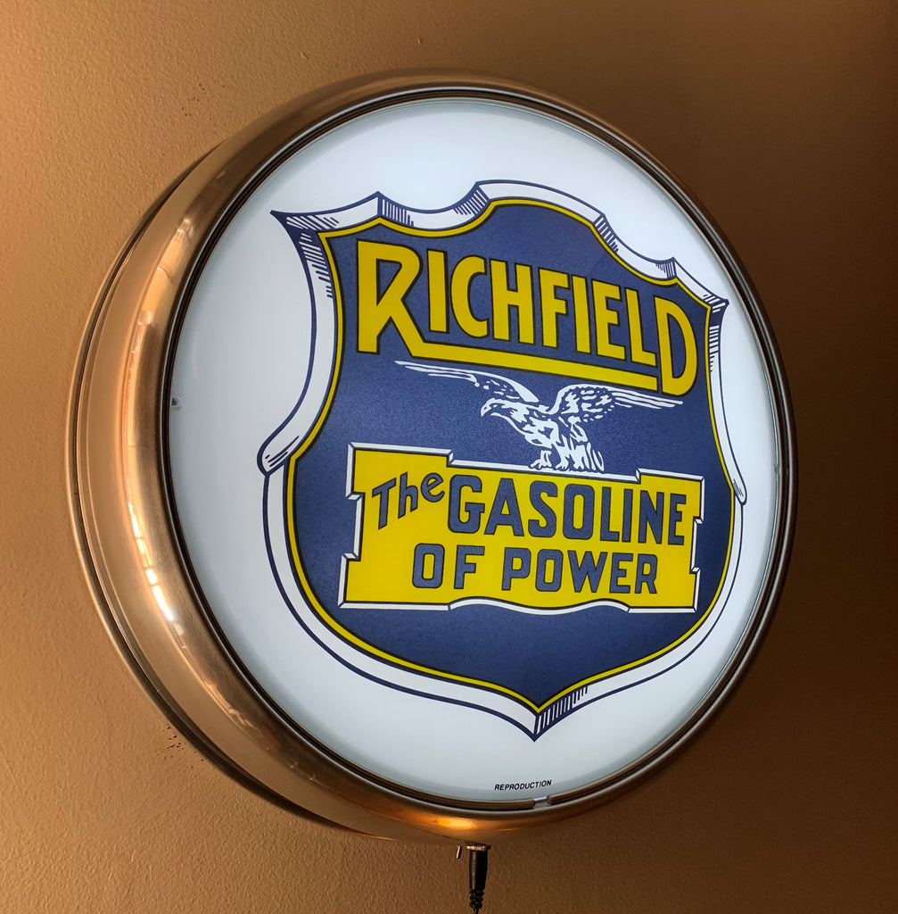 LED Wall Mount - Richfield Gasoline of Power