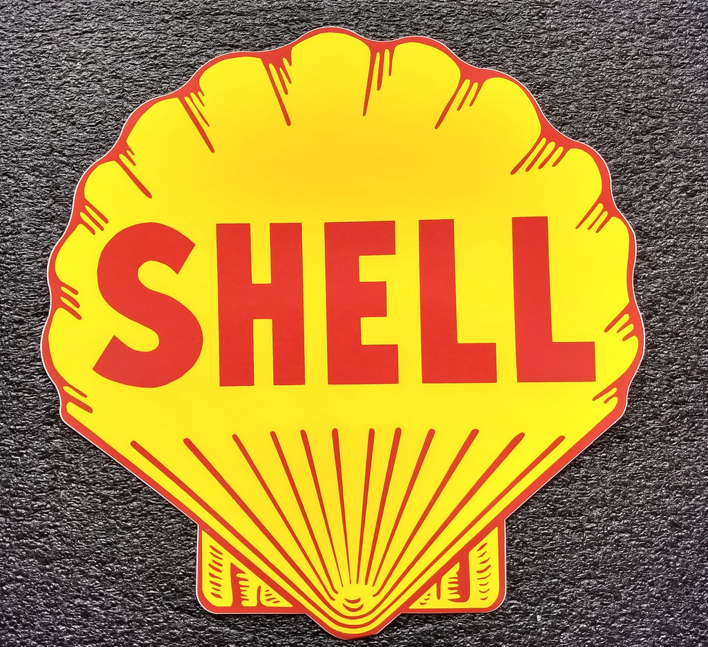 SHELL DIE CUT DECAL-12