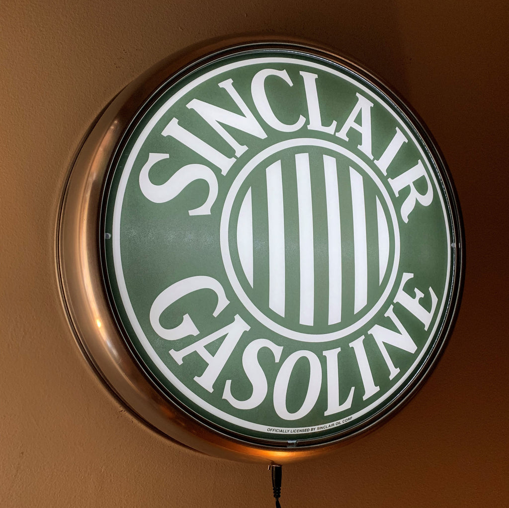 LED Wall Mount - Sinclair Gasoline Stripes