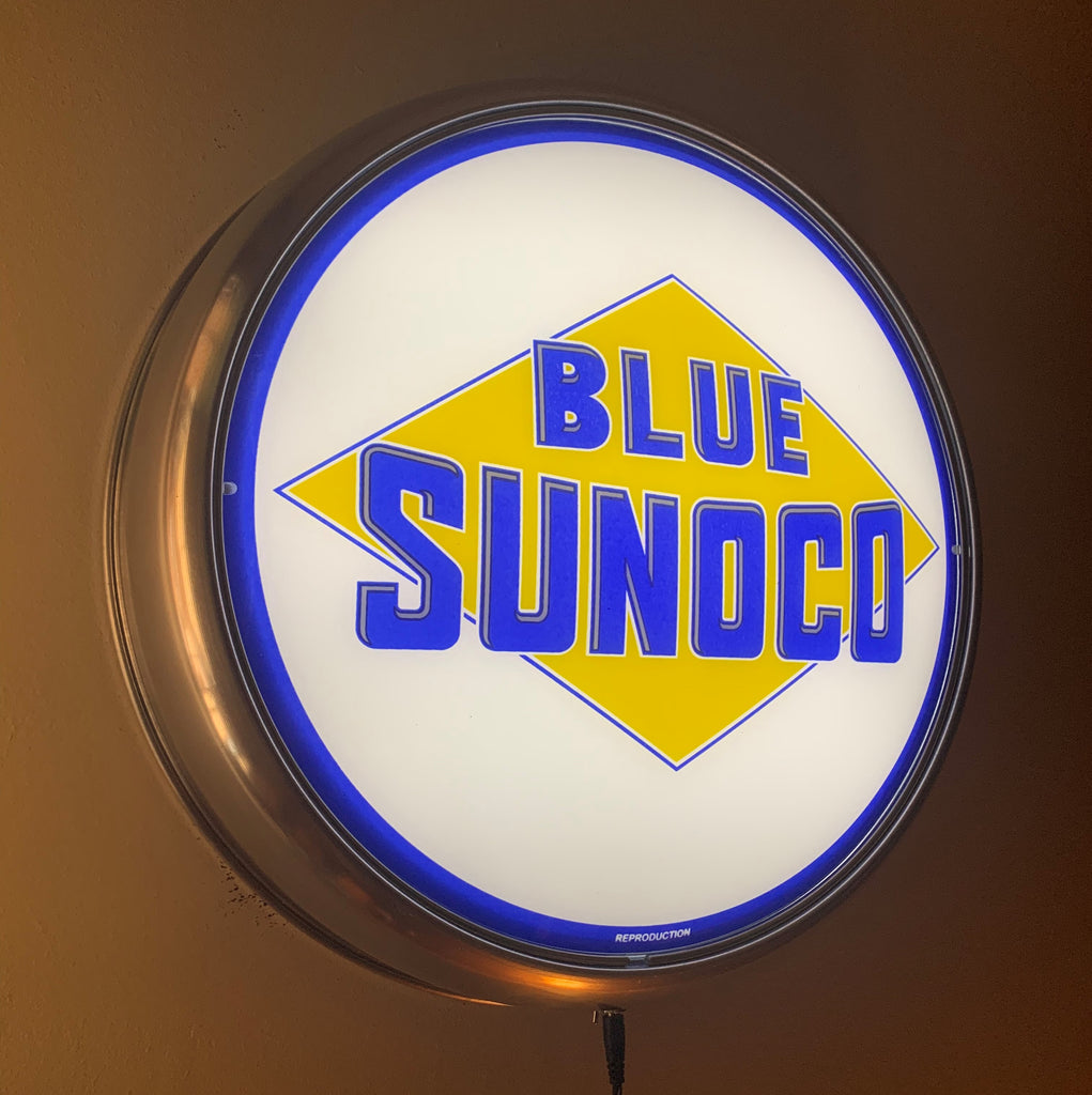 LED Wall Mount - Sunoco Blue