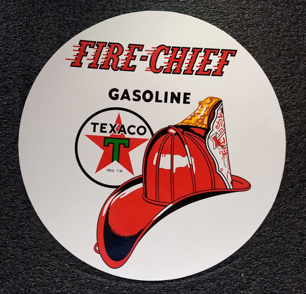 TEXACO FIRE-CHIEF Decal - Vinyl