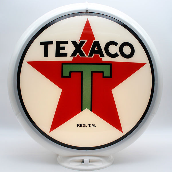 TEXACO STAR GAS PUMP GLOBE 13.5
