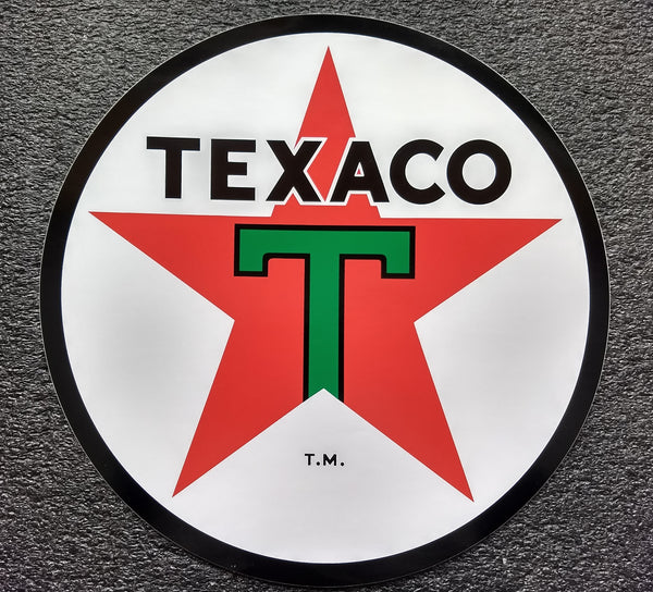 TEXACO STAR DECAL-12