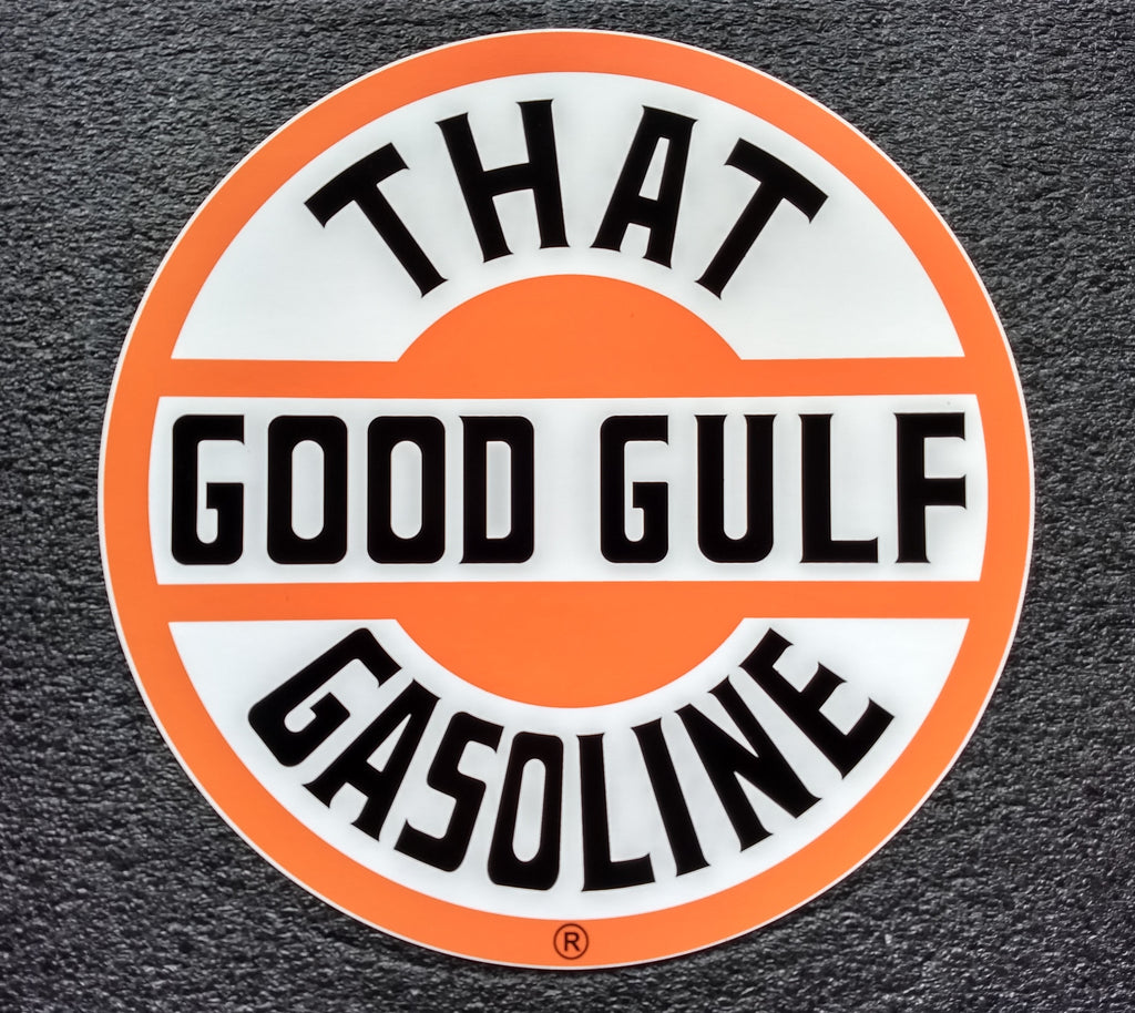 THAT GOOD GULF DECAL-12