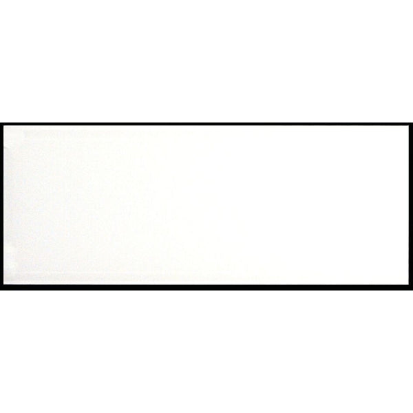 Plain White (Frosted) Ad Glass Panel